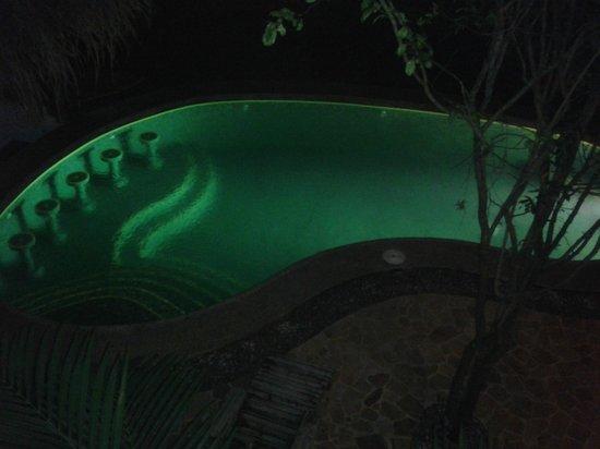 Hotel Luz de Luna: su piscina en forma de pie