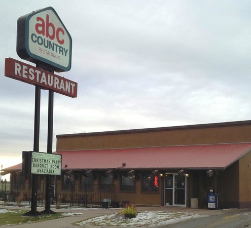 ABC Country Restaurant: Front of the Restaurant