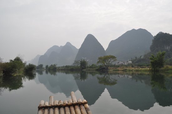 Yangshuo Tea Cozy: Bamboo Raft Ride