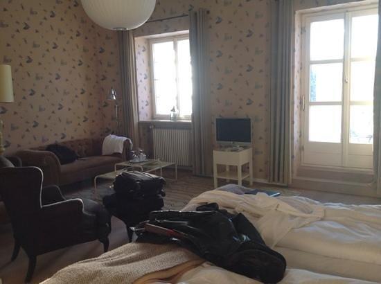Hotel das Kranzbach: Wohzimmer Suite 64