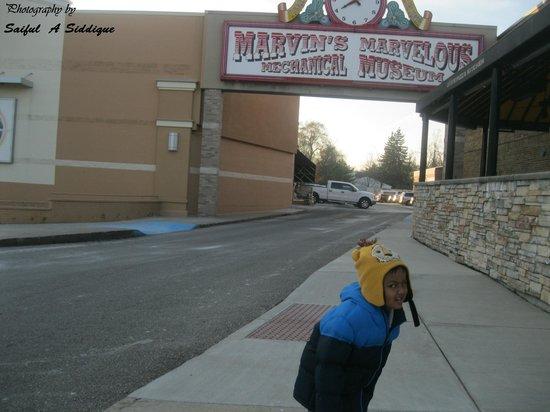 Marvin's Marvelous Mechanical Museum : Entrance