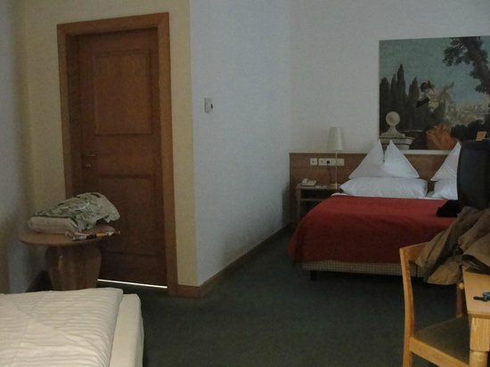 Hotel Imlauer & Bräu : Quarto triplo