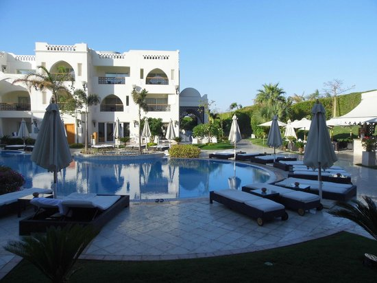 Le Royale Sharm El Sheikh, a Sonesta Collection Luxury Resort: view from our terrace