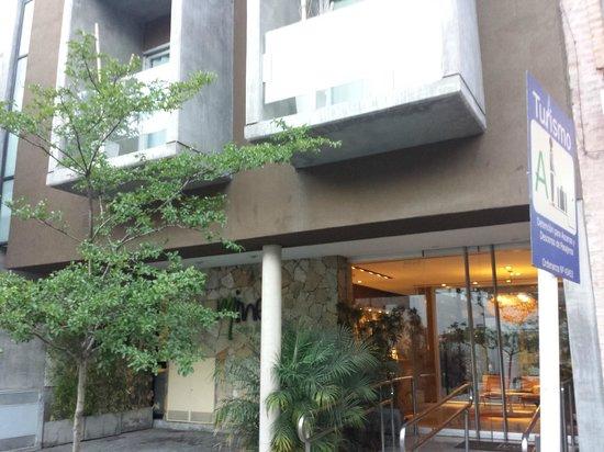 Mine Hotel Boutique: Facade