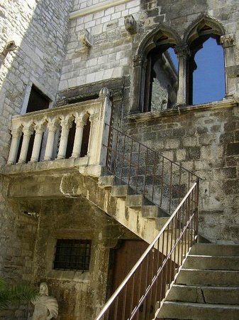 City Museum of Split: external staircase