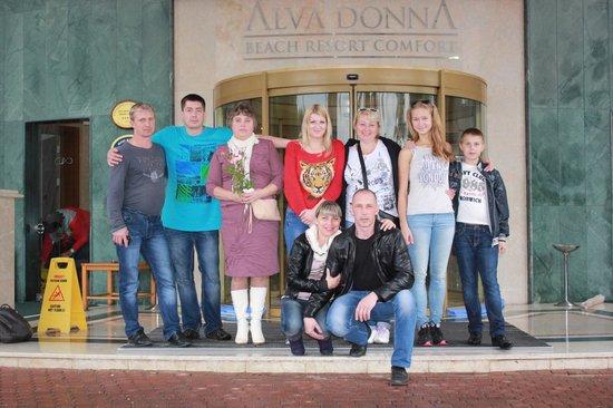 Alva Donna Beach Resort Comfort: вход  в отель