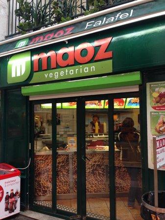 Maoz Vegetarian: dalla strada