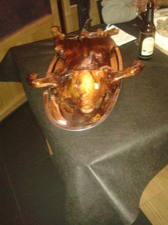 Naron, Spanje: Leiton crocante