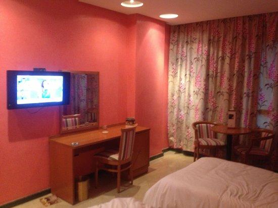 Oum Palace Hotel : habitación