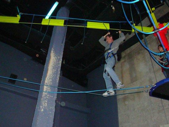 WonderWorks: rope course
