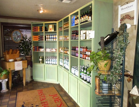 Joe's Pasta House: Fine Imported Food & Confectionaries available for retail purchase for home or gifts!