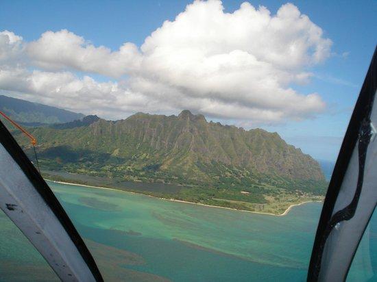 Blue Hawaiian Helicopters - Oahu: Amazing aerial shots.
