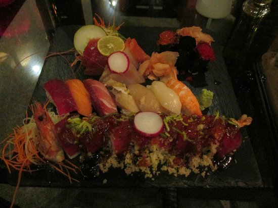 Bam Boo: the sushi take combo special