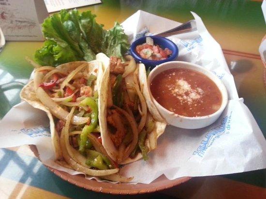 Islands: Chicken Soft Tacos