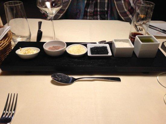 Restaurant Haus zum Haus: Selection of Condiments