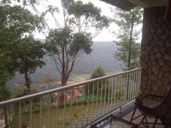SpiceTree Munnar: balcony view