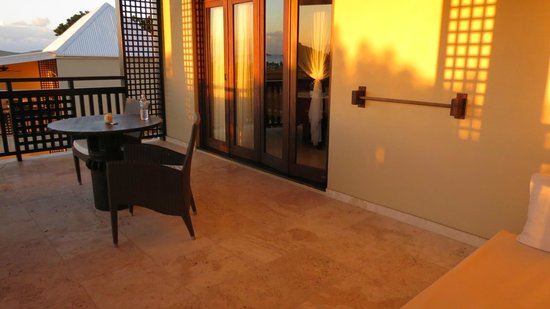 Sugar Ridge Resort: Our patio