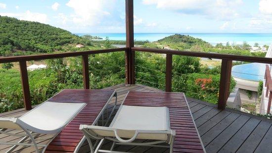 Sugar Ridge Resort: View from Carmichael's