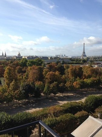 The Westin Paris - Vendome: view from my room