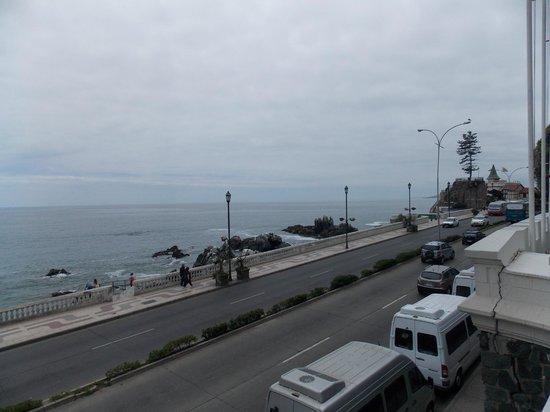 Chilean Wine Lovers: Vista do restaurante Castillo del Mar.