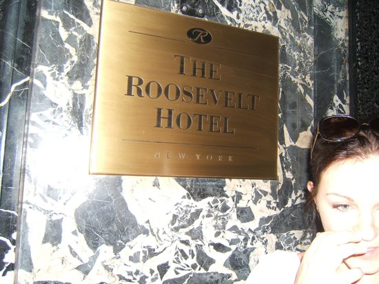 The Roosevelt Hotel: Beautiful Hotel !