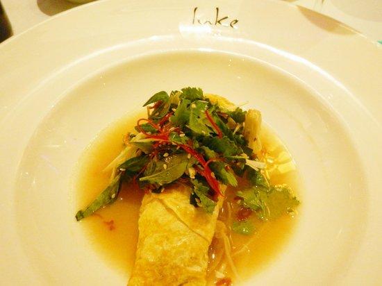 Catch Restaurant: Crab omelette