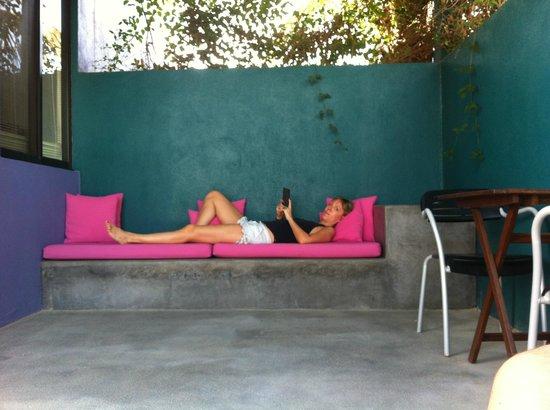The Hotelito : Private outside area