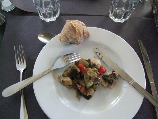 Restaurant Traditionel Les Terrasses : ラタトゥイユ(野菜煮込み冷製仕立て)はプロヴァンスの田舎料理