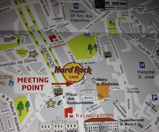 hospital dos capuchos lisboa mapa Calça do Elvis   Picture of Hard Rock Cafe Lisboa, Lisbon  hospital dos capuchos lisboa mapa