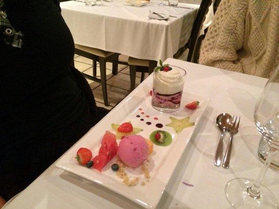 Hotel Ranga: Dessert