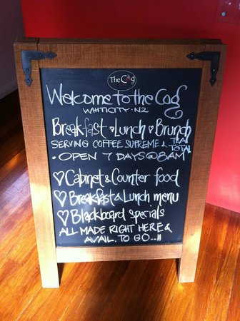 Cafe Coghill House: Open for Breakfast | Brunch | Lunch