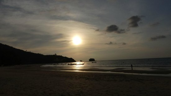 Nai Yang Beach: A great sunset