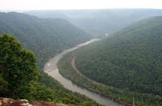 Grandview State Park : Grand View New River Gorge