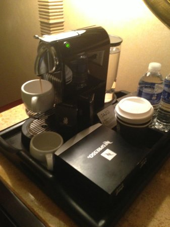 The Ritz-Carlton, Denver: Nespresso