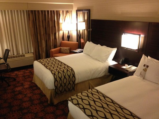 DoubleTree by Hilton San Francisco Airport : Room on Hilton Honors floor