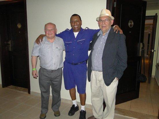 Iberostar Dominicana Hotel: Con Francisco el maletero