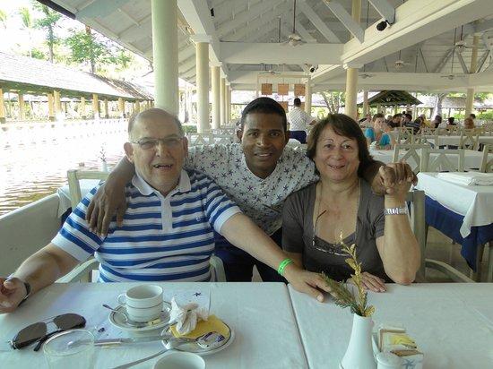 Iberostar Dominicana Hotel: Nuestro amigo Mario.