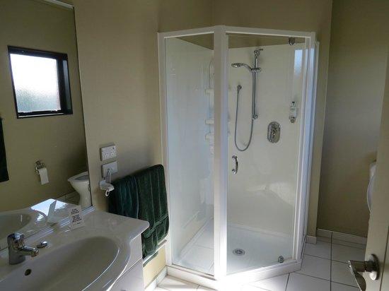 Kaikoura Gateway Motor Lodge: Bathroom