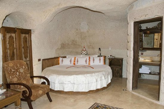Gamirasu Cave Hotel: BEDROOM OF CAVE HOTEL