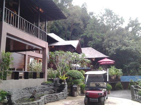 Bunga Raya Island Resort: royal villa with butler