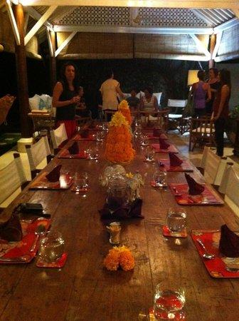 Goddess Retreats : Dining area