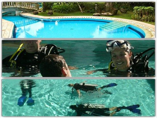 Bali Blue Diving PADI Resort: Discover Scuba Diving session in the pool