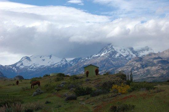 Estancia Cristina Lodge: vista del paradisiaco paisaje alrededor