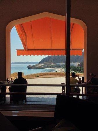 Shangri La Barr Al Jissah Resort & Spa - Al Bandar Hotel : view from breakfast