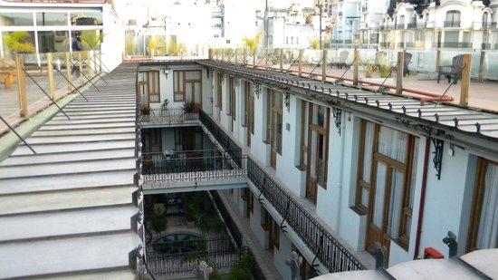 Tribeca Buenos Aires Apart: Área comum no topo do edifício.