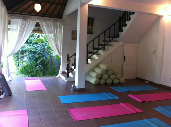 Goddess Retreats : Yoga area