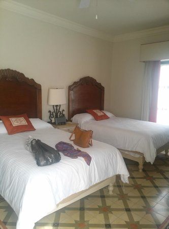 Hotel Casa Primavera: partial view of the room
