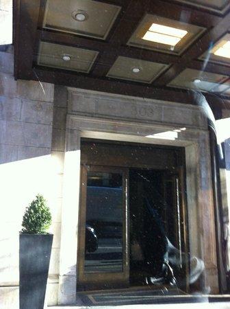entrance affinia sehllburne nyc picture of shelburne hotel