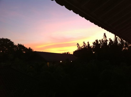 Goddess Retreats: Sunset view from balcony