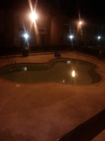 Quality Suites : this pool is beautiful. wish it wasnt november or id love to jump in. lol